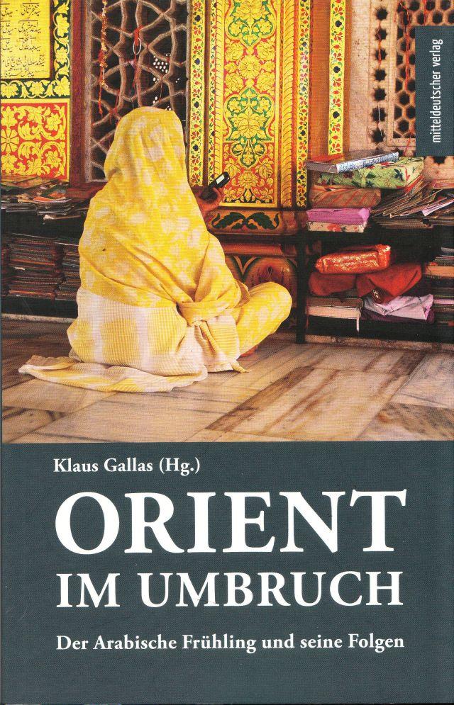 """Buchcover """"Orient im Umbruch"""""""