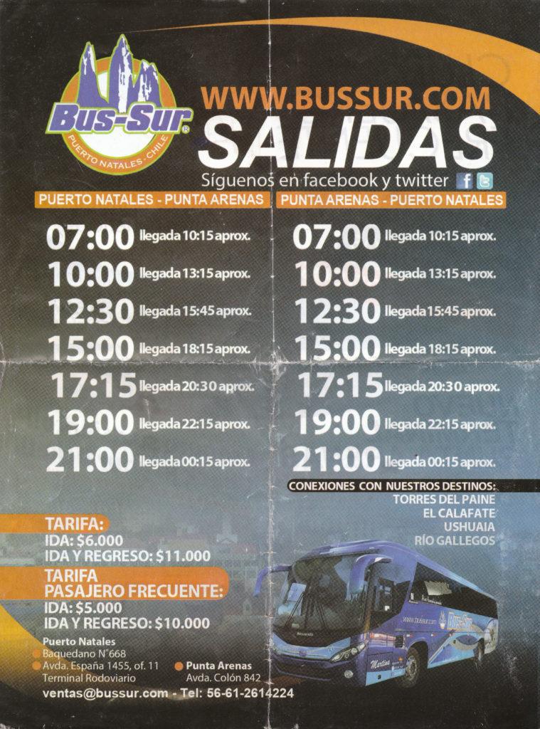 Folleto-BusSur-Pto.Natales-PuntaArenas